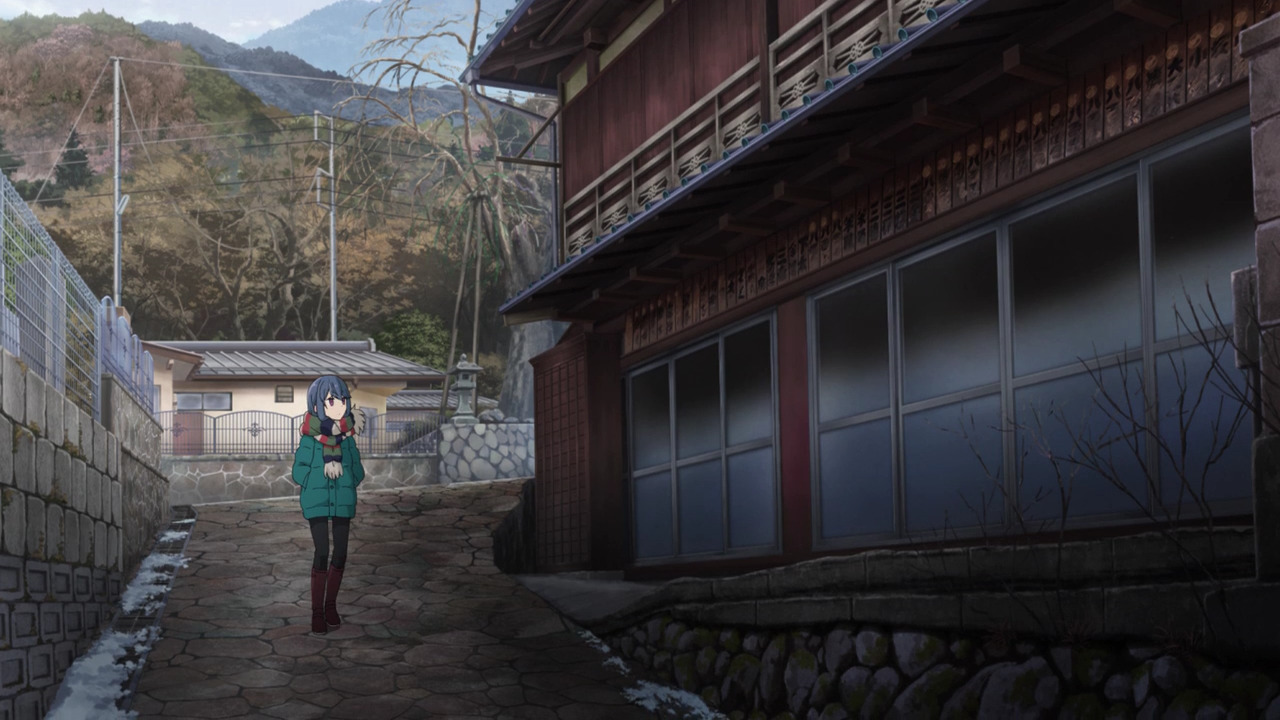 「ゆるキャン△S2」舞台探訪11 なでしこのソロキャン計画その1/3 リン・早川町赤沢宿(第7話)_e0304702_07583959.jpg