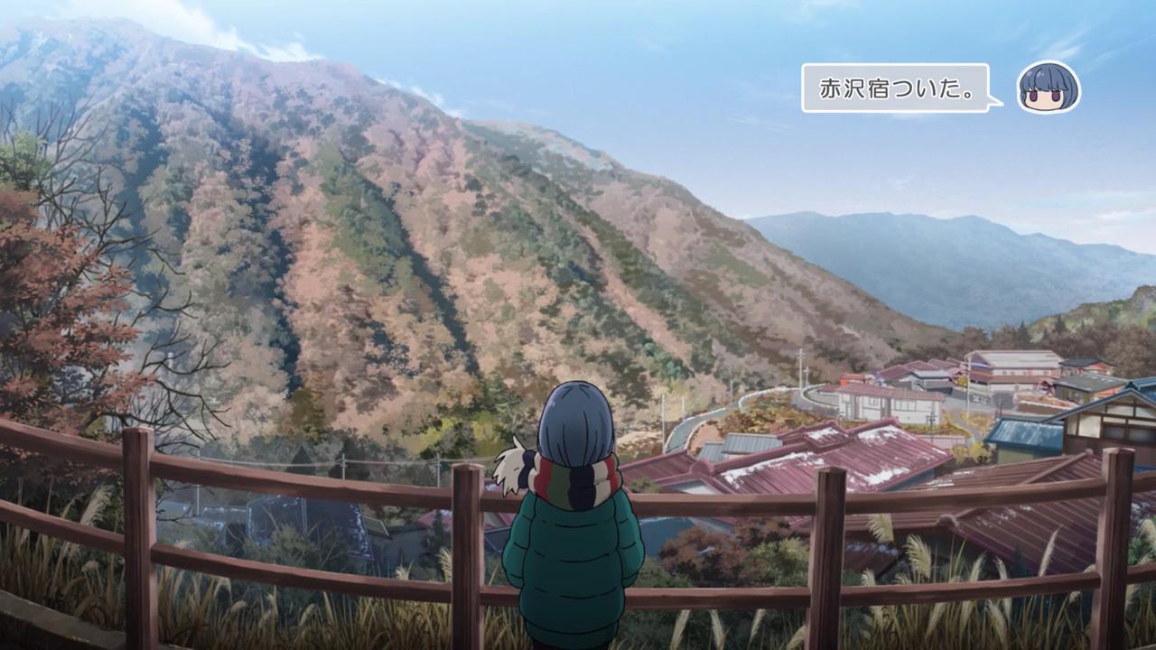 「ゆるキャン△S2」舞台探訪11 なでしこのソロキャン計画その1/3 リン・早川町赤沢宿(第7話)_e0304702_08000510.jpg