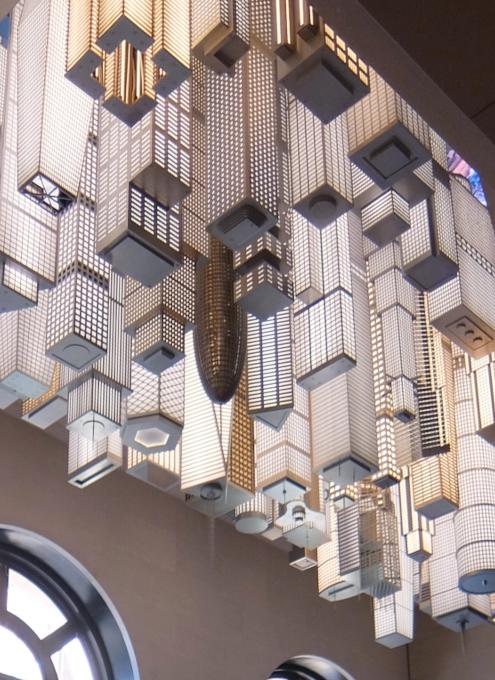 いかにもニューヨークらしい摩天楼の高層ビル群アート by Elmgreen & Dragset_b0007805_05562245.jpg