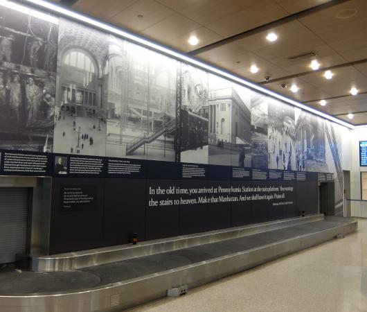 """モイニハン・トレイン・ホールの歴史的なタイムライン壁画、""""Historic Timeline Mural""""_b0007805_07083790.jpg"""