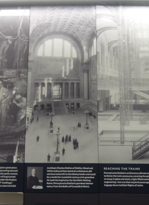 """モイニハン・トレイン・ホールの歴史的なタイムライン壁画、""""Historic Timeline Mural""""_b0007805_07084659.jpg"""