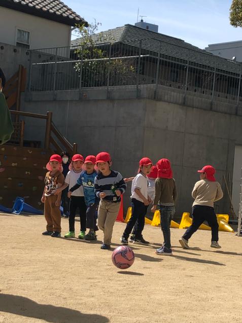 アンジュビオレのサッカー教室第3段!_f0324461_16311633.jpg