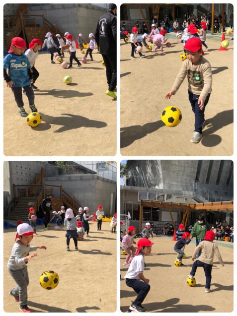 アンジュビオレのサッカー教室第3段!_f0324461_16543003.jpg