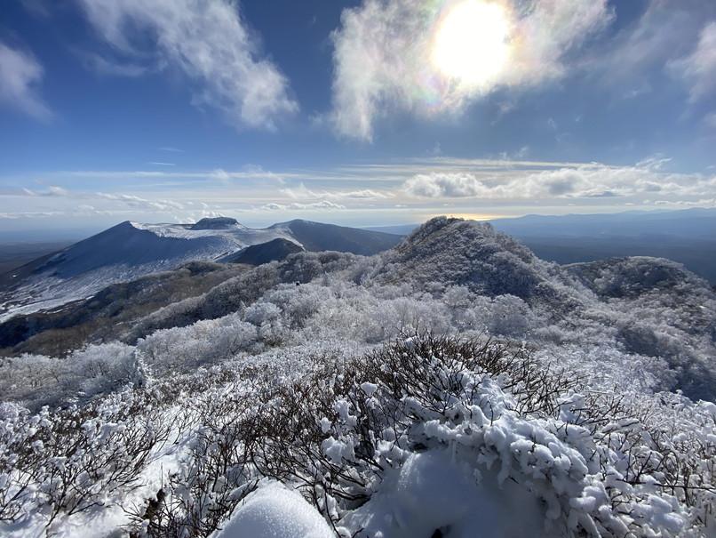 """2020年12月 『初冬の風不死岳』 December 2020 \""""Mt Fuppusi, Winter Season\""""_c0219616_09000926.jpg"""