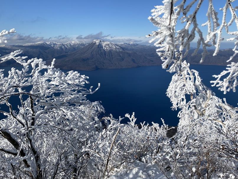 """2020年12月 『初冬の風不死岳』 December 2020 \""""Mt Fuppusi, Winter Season\""""_c0219616_09000948.jpg"""