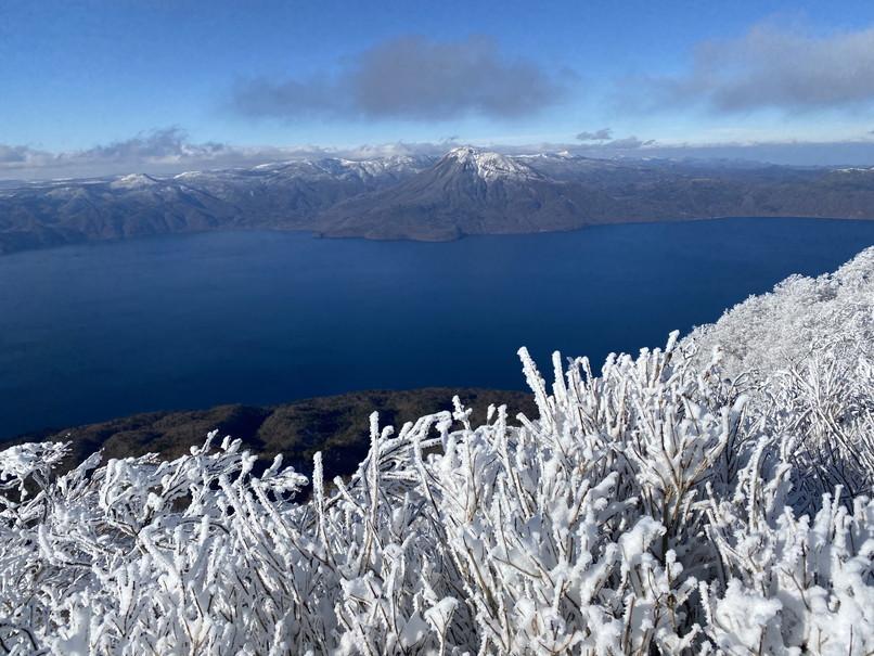 """2020年12月 『初冬の風不死岳』 December 2020 \""""Mt Fuppusi, Winter Season\""""_c0219616_09000991.jpg"""