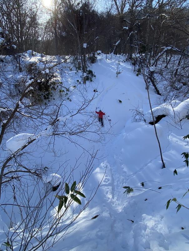 """2021年1月 『札幌の裏庭を登る、そして食べる』 January 2021 \""""Winter Hiking and Eating in Sapporo\""""_c0219616_10010194.jpg"""