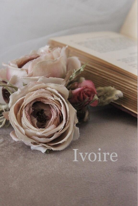 バラのコサージュ...♪*゚_f0372557_18461521.jpeg