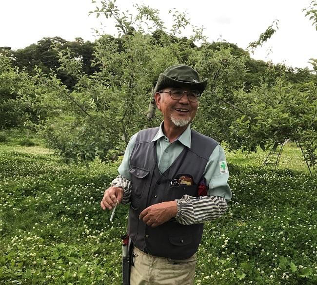 奇跡のリンゴの木村秋則さんの愛弟子佐々木悦雄さんのリンゴジュースを飲んでみませんか!_a0053480_13460122.jpg