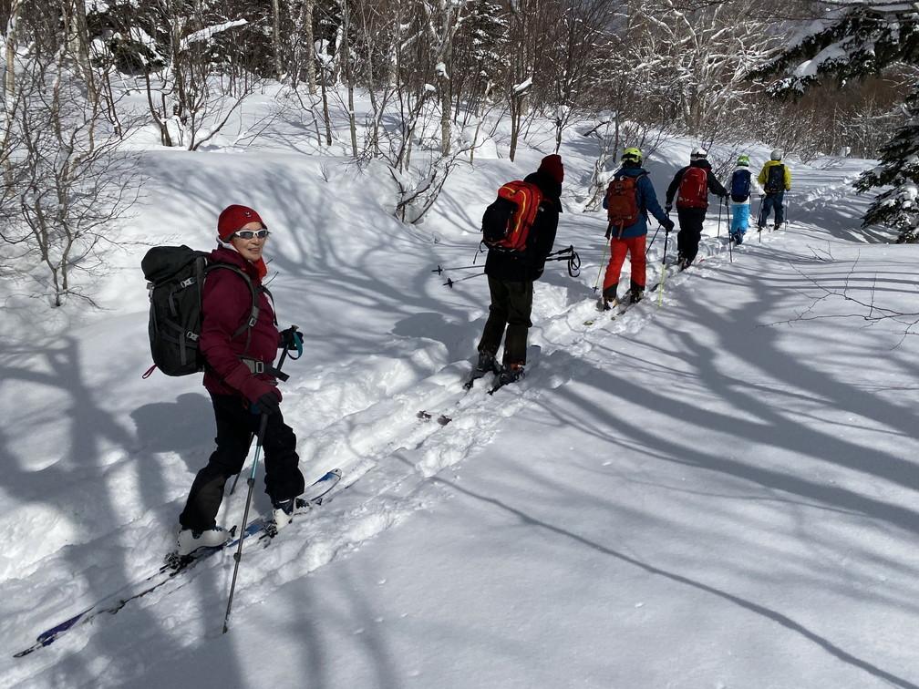"""2021年2月 『2021年初バックカントリースキー 手稲山』 February 2021 \""""2021 First Backcountry Ski in Mt Teine\""""_c0219616_18470540.jpg"""