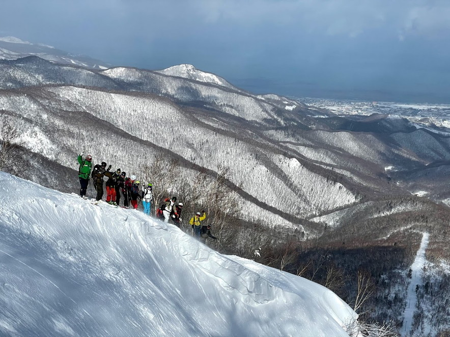 """2021年2月 『2021年初バックカントリースキー 手稲山』 February 2021 \""""2021 First Backcountry Ski in Mt Teine\""""_c0219616_18470575.jpg"""