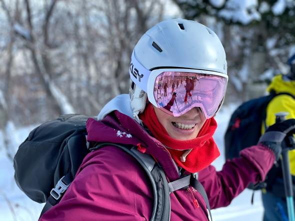 """2021年2月 『2021年初バックカントリースキー 手稲山』 February 2021 \""""2021 First Backcountry Ski in Mt Teine\""""_c0219616_18470671.jpg"""