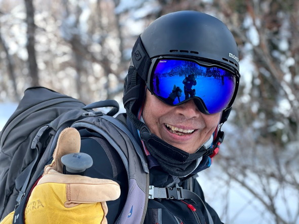"""2021年2月 『2021年初バックカントリースキー 手稲山』 February 2021 \""""2021 First Backcountry Ski in Mt Teine\""""_c0219616_18470689.jpg"""