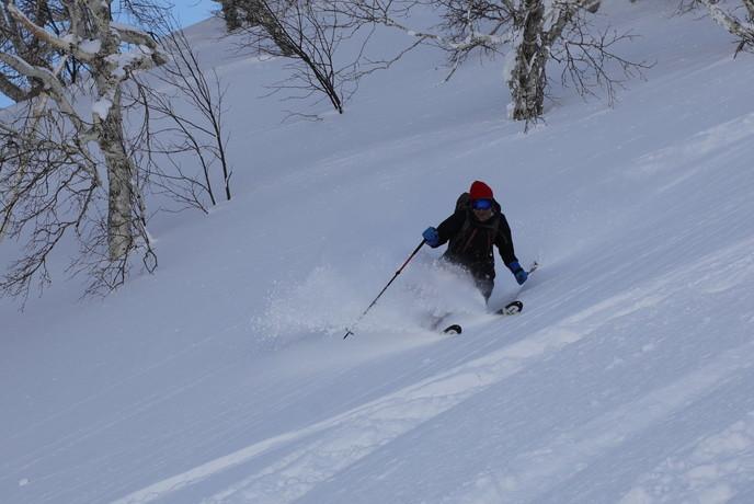 """2021年2月 『利尻山バックカントリースキー』 February 2021 \""""Ski in Island, Mount Rishiri\""""_c0219616_21055115.jpg"""