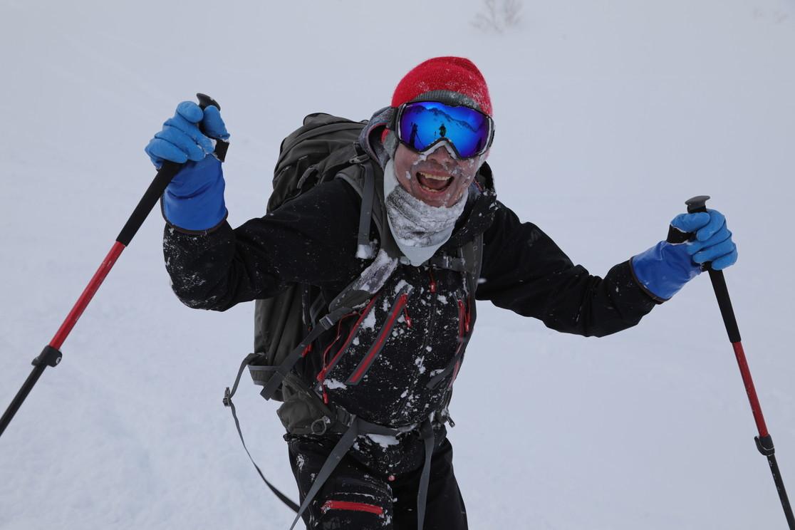"""2021年2月 『利尻山バックカントリースキー』 February 2021 \""""Ski in Island, Mount Rishiri\""""_c0219616_21060656.jpg"""
