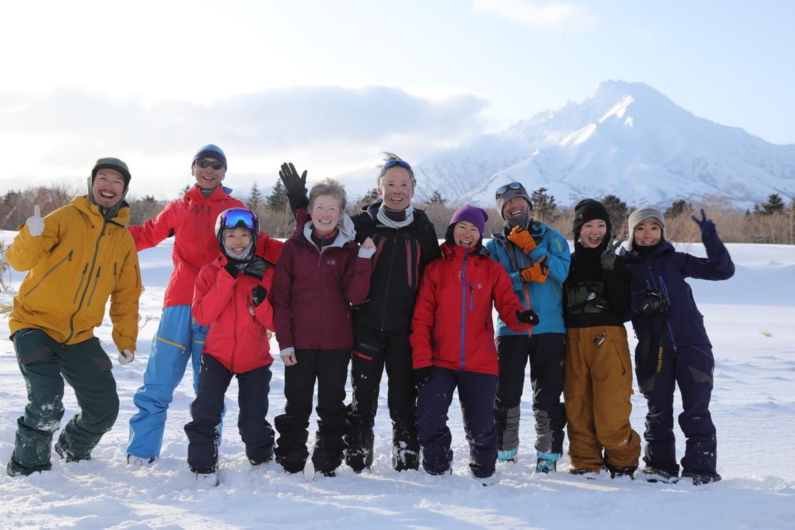 """2021年2月 『利尻山バックカントリースキー』 February 2021 \""""Ski in Island, Mount Rishiri\""""_c0219616_21061701.jpg"""