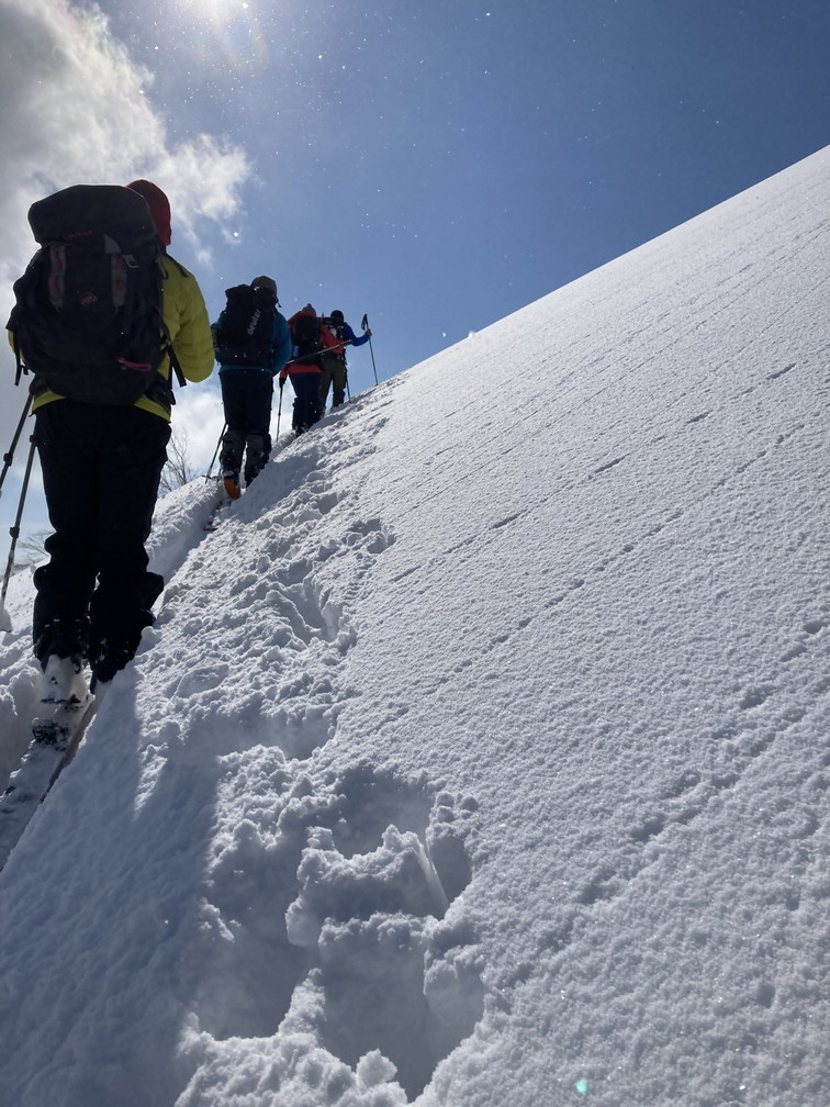 """2021年2月 『利尻山バックカントリースキー』 February 2021 \""""Ski in Island, Mount Rishiri\""""_c0219616_21061876.jpg"""