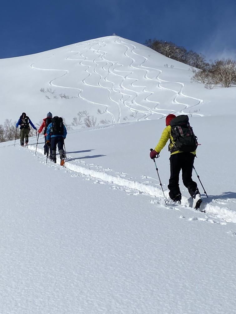 """2021年2月 『利尻山バックカントリースキー』 February 2021 \""""Ski in Island, Mount Rishiri\""""_c0219616_21063024.jpg"""