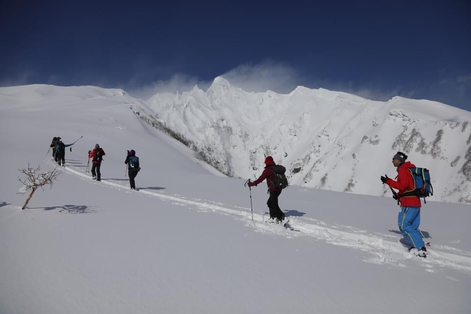 """2021年2月 『利尻山バックカントリースキー』 February 2021 \""""Ski in Island, Mount Rishiri\""""_c0219616_21064081.jpg"""
