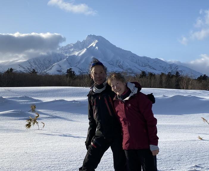 """2021年2月 『利尻山バックカントリースキー』 February 2021 \""""Ski in Island, Mount Rishiri\""""_c0219616_21064166.jpg"""
