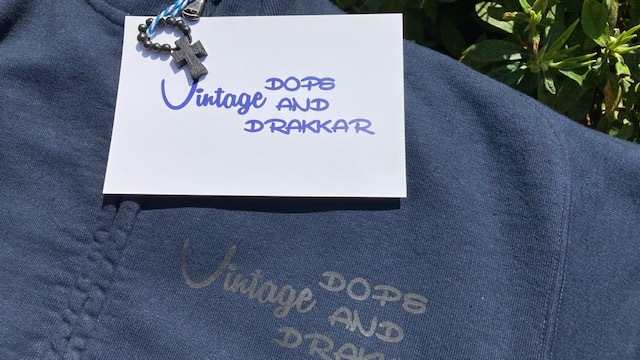 DD Vintage 新作♪ コットン100%の両開きZip Up Sweat_d0108933_21561045.jpg
