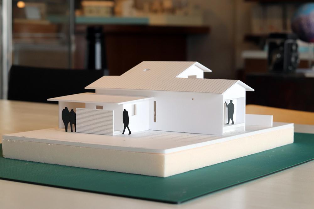模型/連島の住宅/倉敷_c0225122_13322719.jpg