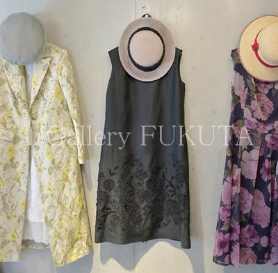 「春夏の洋服と帽子展」開催中です。_c0161127_10551915.jpg