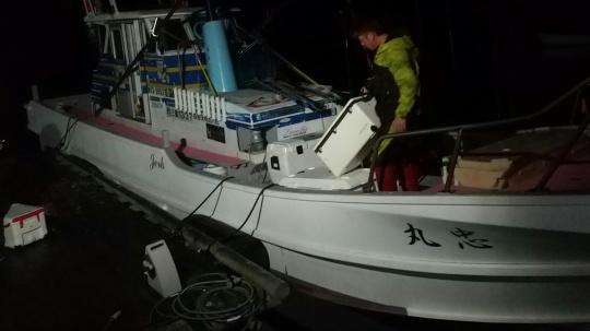 トンジギ❕❕ビンチョウジギング❕❕乗船ジャーク忠丸❕❕_e0212944_10531112.jpg