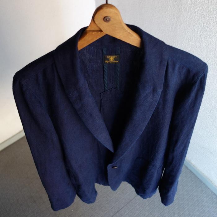 5月の製作 / anotherline shawlcollar heavylinen jkt_e0130546_13091946.jpg