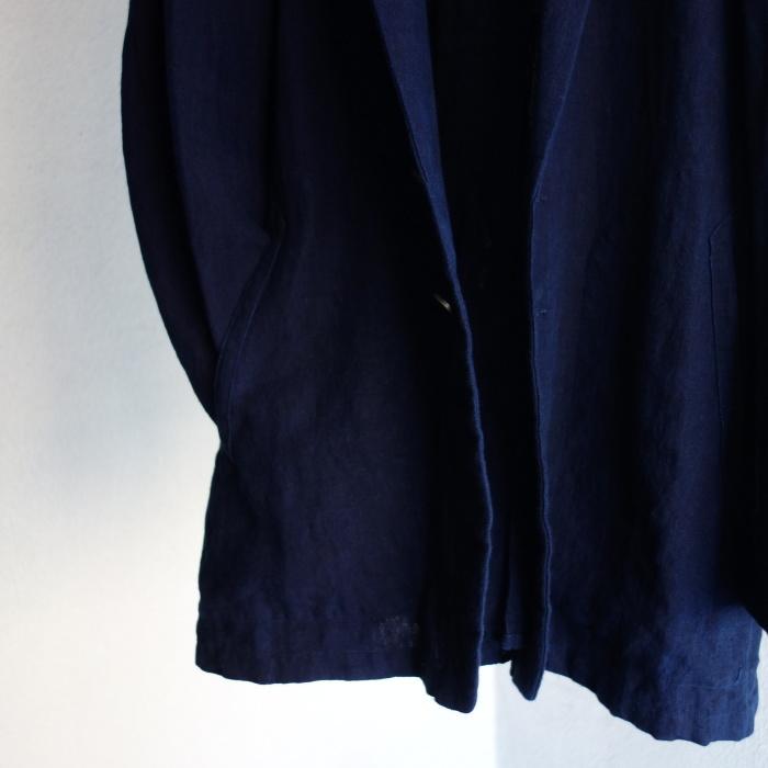 5月の製作 / anotherline shawlcollar heavylinen jkt_e0130546_13123752.jpg