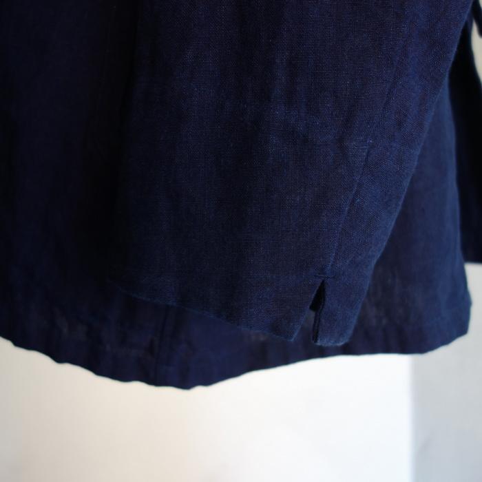 5月の製作 / anotherline shawlcollar heavylinen jkt_e0130546_13144009.jpg