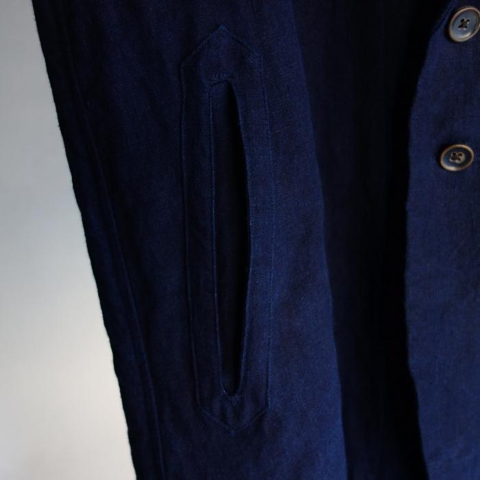 5月の製作 / anotherline shawlcollar heavylinen jkt_e0130546_13150704.jpg