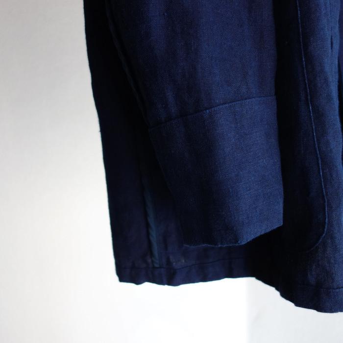 5月の製作 / anotherline shawlcollar heavylinen jkt_e0130546_13231157.jpg