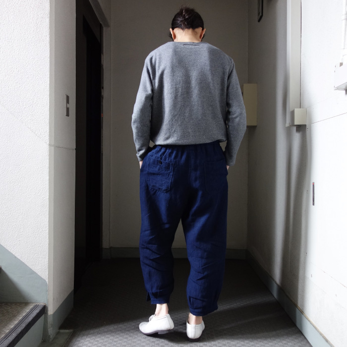 5月の製作 / heavylinen easy knickers 本藍_e0130546_14154151.jpg