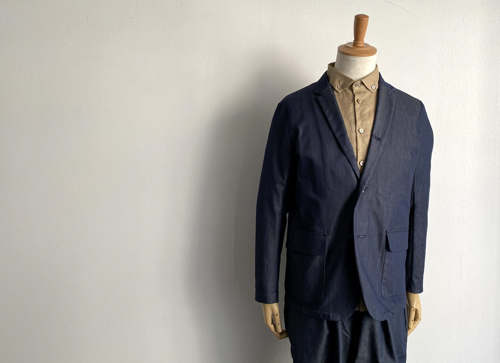 Cool Chambray Cover All Jacket_c0379477_19433440.jpg