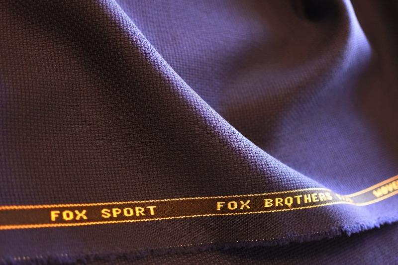 Wジャケットはまずは、ネイビーWジャケットから・・・FOXBROTHERS_d0060944_11473337.jpg