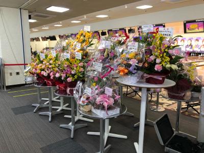 ☆ALL STAR GAME 2021☆たくさんのお花に感謝♪_d0162684_21393127.jpg