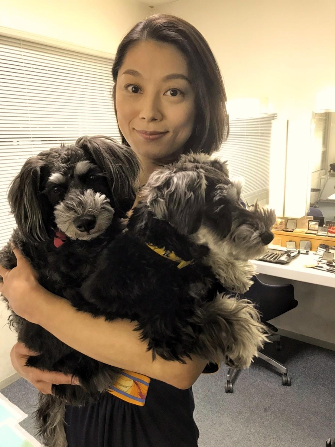小池栄子姫とボニーとアン♪_d0339889_16025557.jpg