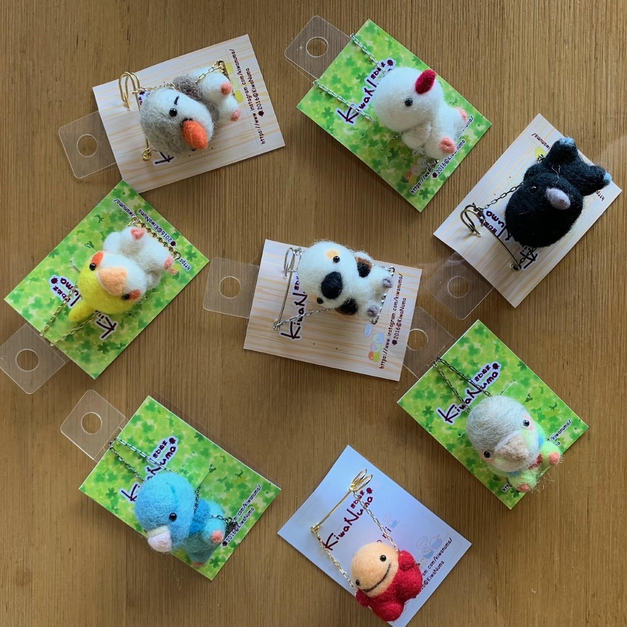 鳥展 KiwaNumaさん羊毛フェルト作品 通販開始します_d0322493_11110618.jpg