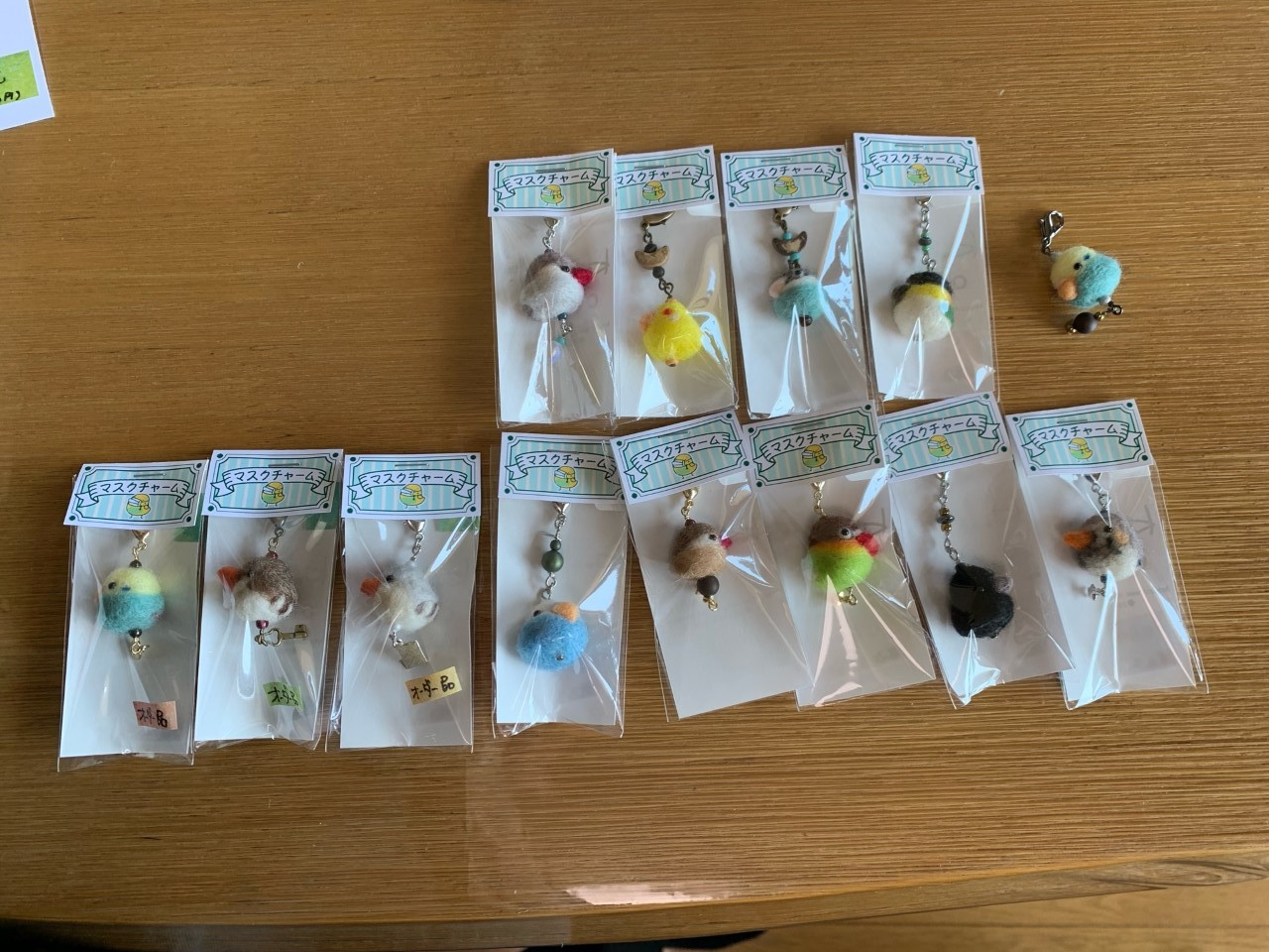 鳥展 KiwaNumaさん羊毛フェルト作品 通販開始します_d0322493_11125837.jpg