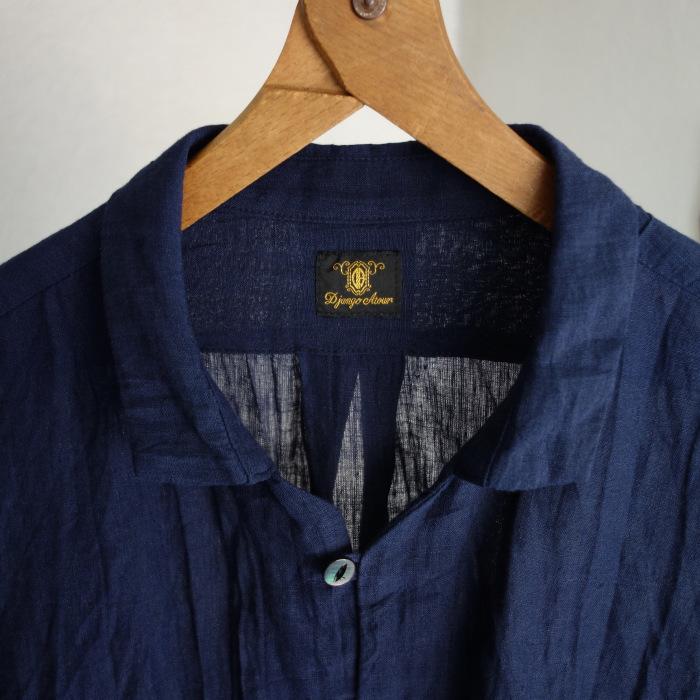 6月の製作 / DA farmers linen shirtcadigan_e0130546_16214929.jpg