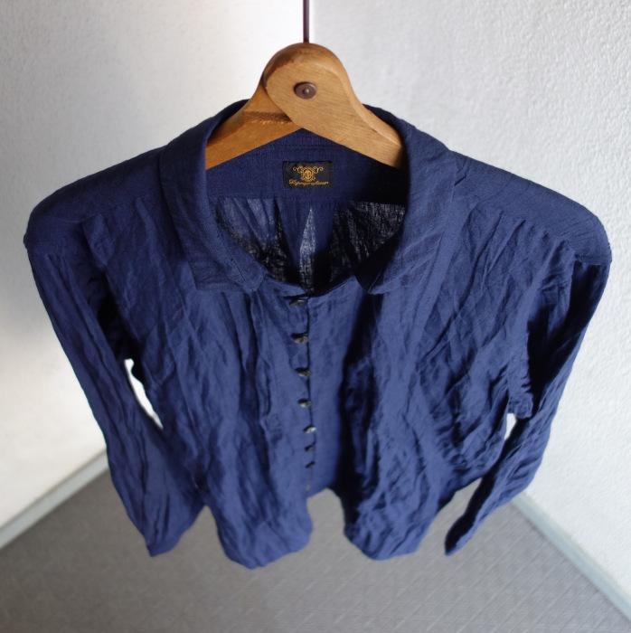 6月の製作 / DA farmers linen shirtcadigan_e0130546_16215718.jpg