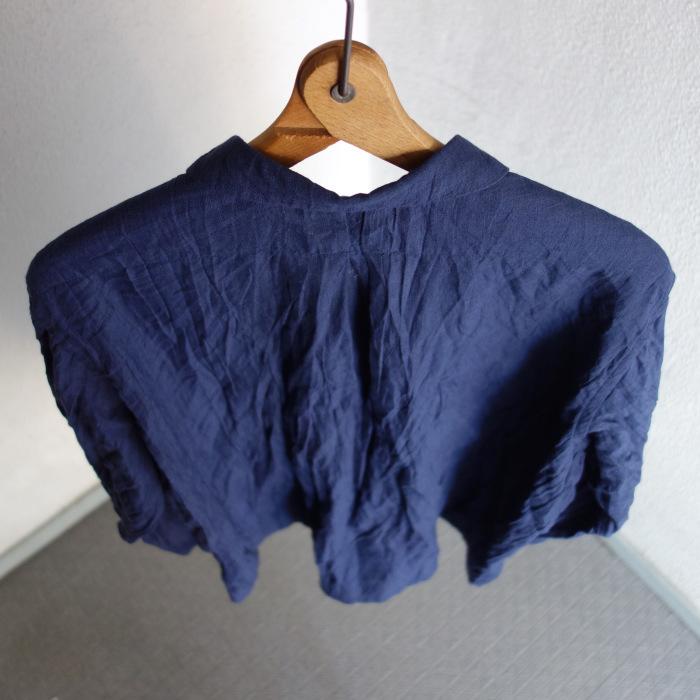6月の製作 / DA farmers linen shirtcadigan_e0130546_16220547.jpg