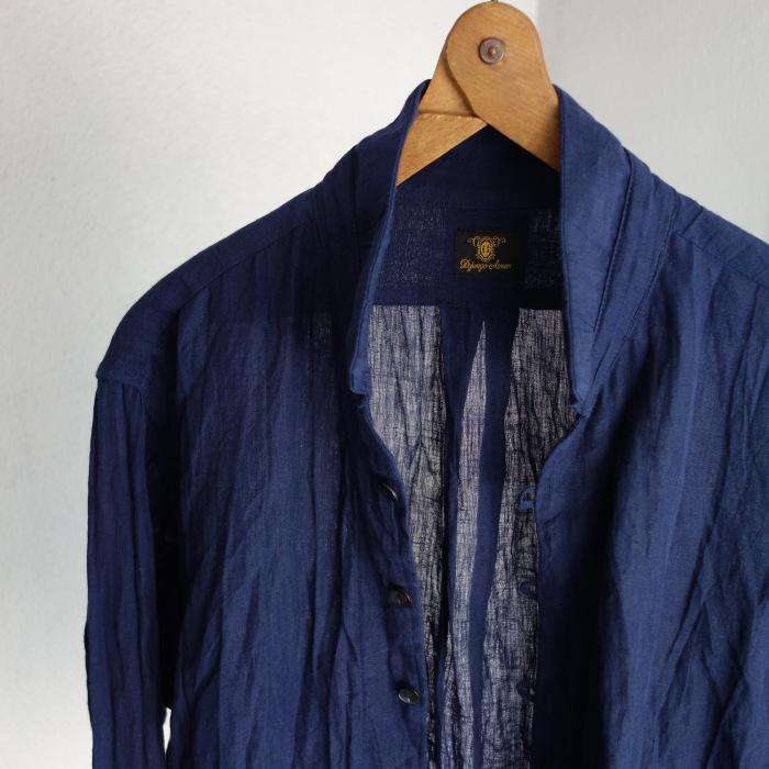 6月の製作 / DA farmers linen shirtcadigan_e0130546_16222518.jpg
