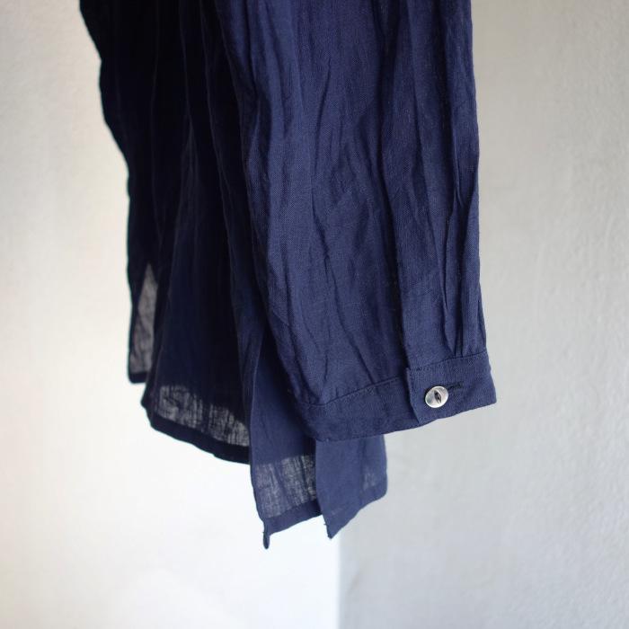 6月の製作 / DA farmers linen shirtcadigan_e0130546_16230845.jpg