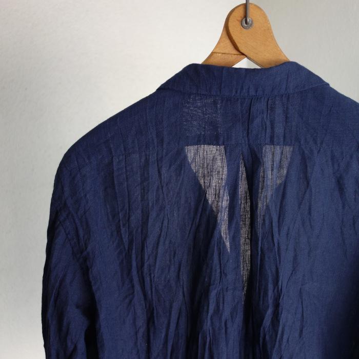6月の製作 / DA farmers linen shirtcadigan_e0130546_16282819.jpg