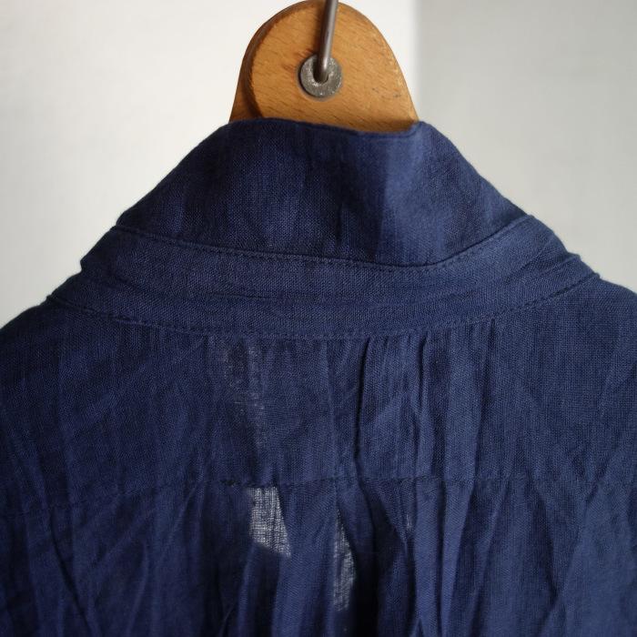 6月の製作 / DA farmers linen shirtcadigan_e0130546_16285304.jpg