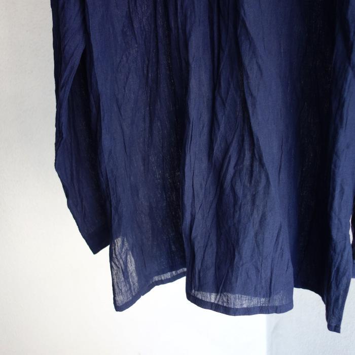 6月の製作 / DA farmers linen shirtcadigan_e0130546_16292159.jpg