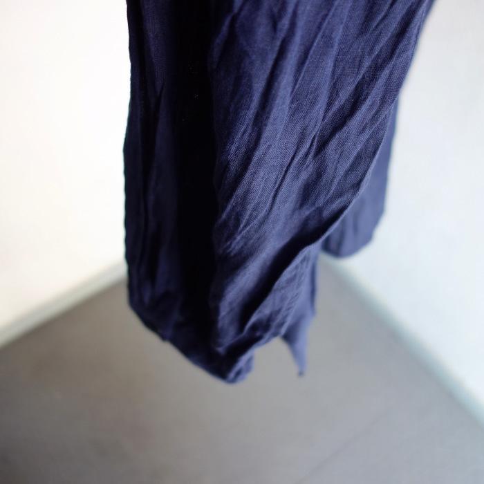 6月の製作 / DA farmers linen shirtcadigan_e0130546_16293595.jpg