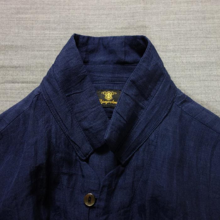 6月の製作 / DA farmers linen shirtcadigan_e0130546_16295654.jpg